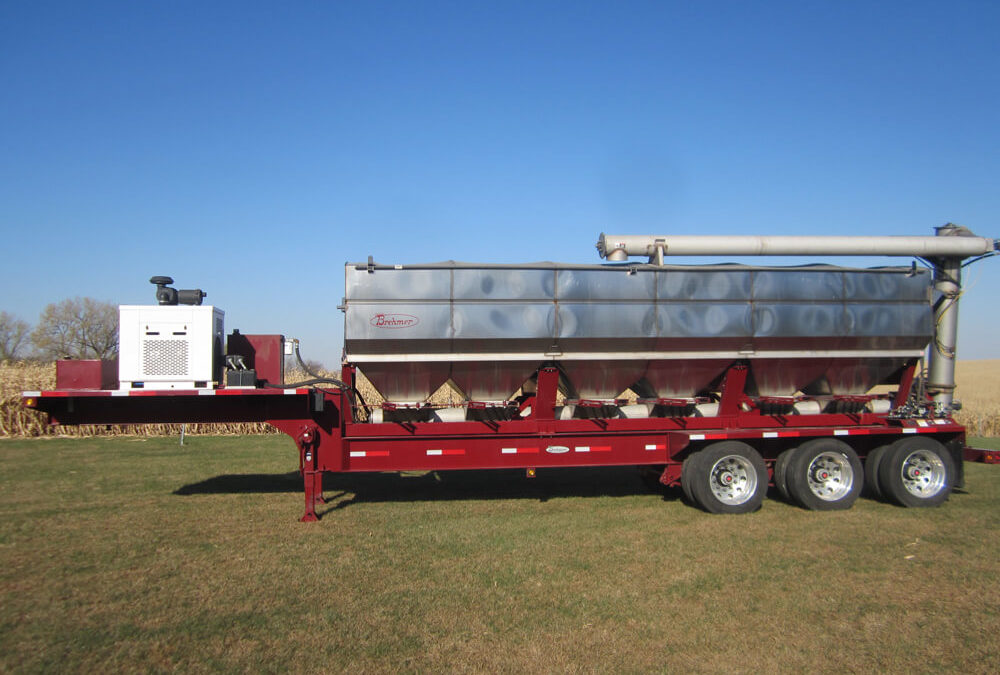 Brehmer Overhead Discharge Trailer Mounted Tender