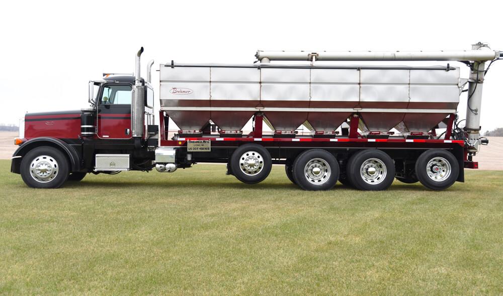 Overhead Discharge Truck Mount Fertilizer Tender