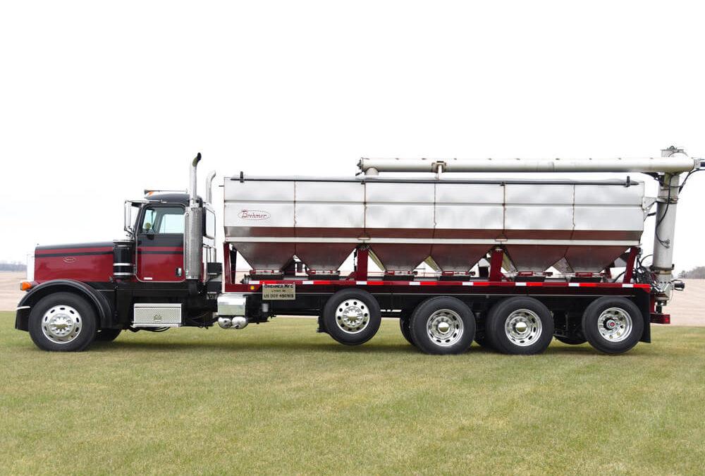 Overhead Discharge Truck Mount Tender