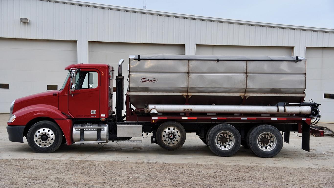 Brehmer truck mount dry tender